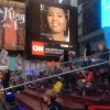Yasmine Arrington, LearnServe Alum and Peace First Prize winner on Times Square